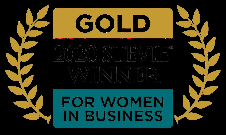 2020 Stevie Gold Winner for Women In Business